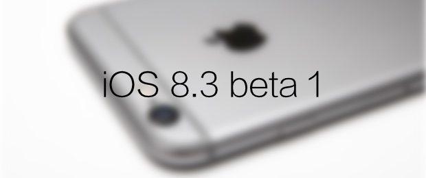 iOS 8.3 beta 1 avrmagazie
