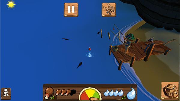l'isola dei famosi scontro di eroi-giochi ios-avrmagazine3