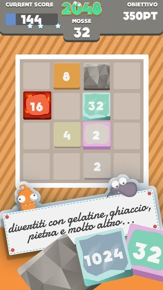 2048 Adventure giochi per iPhone avrmagazine 2