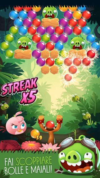 Angry Birds Stella Pop giochi per iPhone avrmgazine