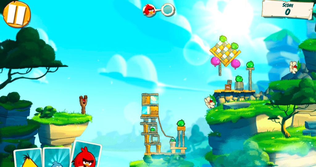 Angry Birds Under Pigstruction giochi per iPhone avrmagazine 2