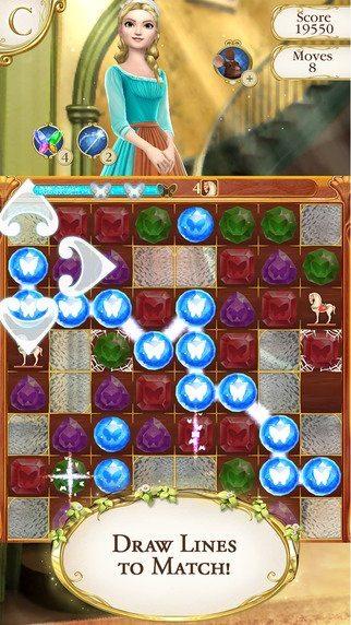 Cinderella Free Fall giochi per iPhone avrmagazine