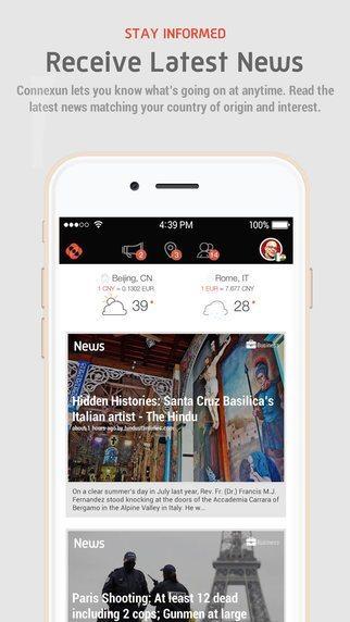 Connexun applicazioni per iPhone avrmagazine 1