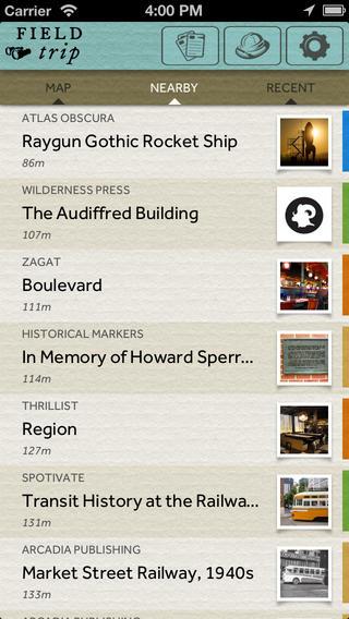 Field Trip applicaizoni per iPhone e android avrmagazine 2