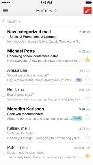 Gmail 4 applicazioni per iPhone avrmagazine