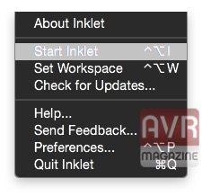 Inklet applicazioni per mac avrmagazine 2