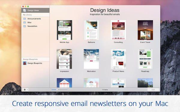 Mail Designer Pro 2.1 applicazioni per mac avrmagazine