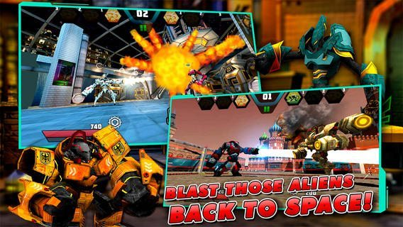 Mecha Showdown giochi per iPhone avrmagazine 1