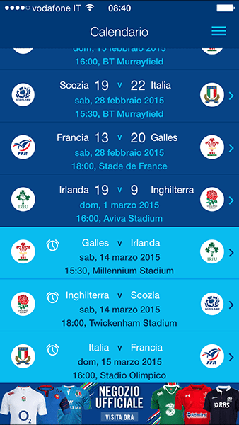 Official RBS 6 Nations-app per ios-avrmagazine