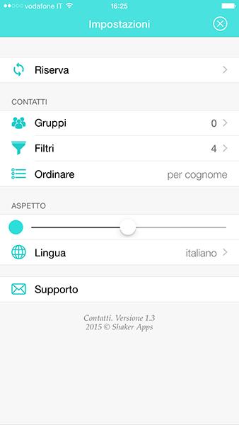contatti pro-app per ios-avrmagazine4