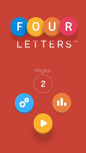 four letters-giochi per ios-avrmagazine