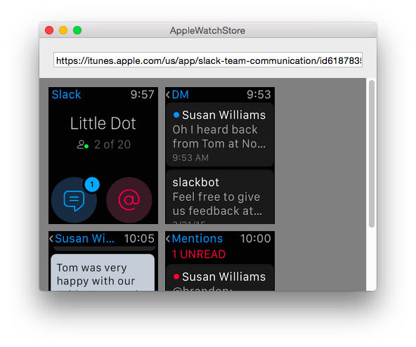 Apple Watch screenshot-apps-avrmagazine