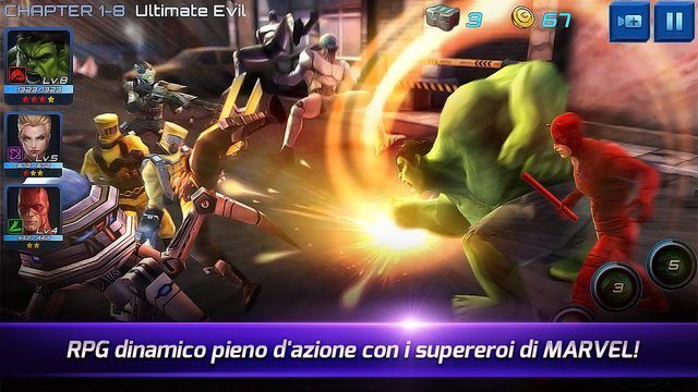MARVEL Future Fight giochi per iPhone avrmagazine 2