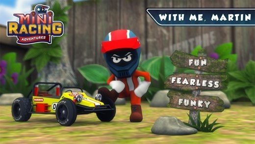 Mini Racing Adventures giochi per iPhone avrmagazine 1