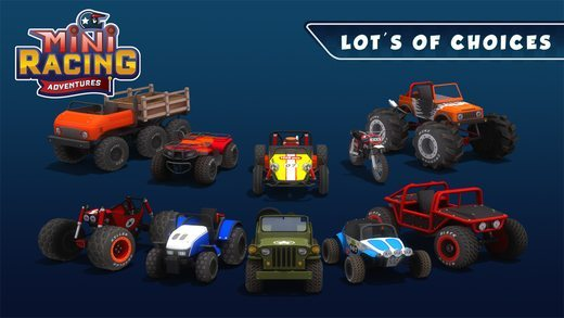 Mini Racing Adventures giochi per iPhone avrmagazine 2