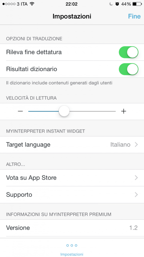 MyInterpreter applicazioni per iPhone avrmagazine 4
