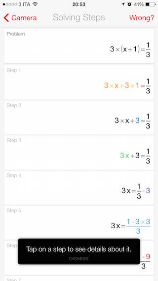 PhotoMath applicaizoni per iPhone e android avrmagazine