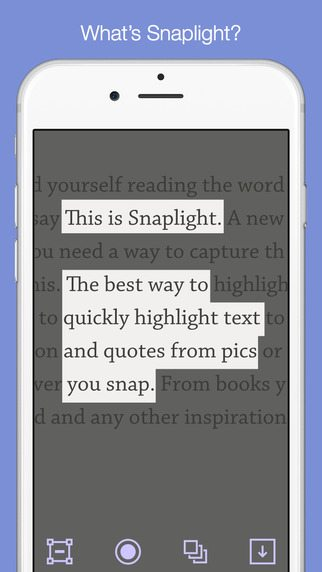 Snaplight applicazioni per iPhone avrmagazine 2