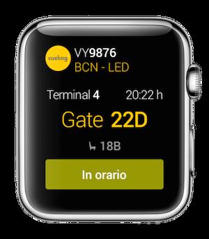 Vueling apple watch applicazione avrmagazine