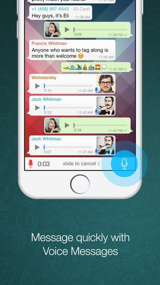 WhatsApp applicaizoni per iPhone avrmagazine 1