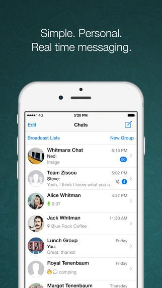 WhatsApp applicaizoni per iPhone avrmagazine 2