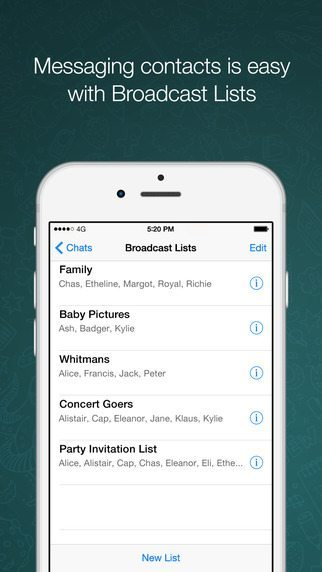 WhatsApp applicaizoni per iPhone avrmagazine 3