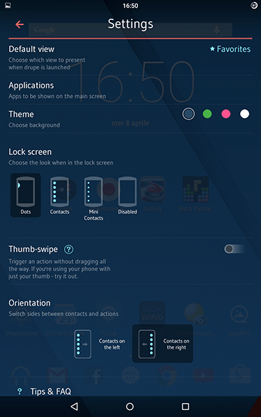 drupe-app per android-avrmagazine3