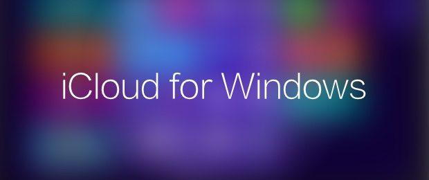 iCloud for Windows app avrmagazine