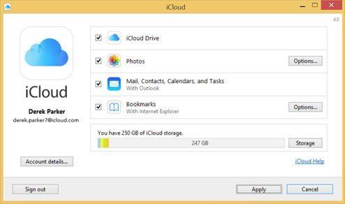 iCloud for Windows avrmagazine