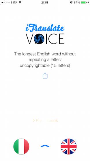 iTranslate Voice applicazioni per iPhone avrmagazine 1