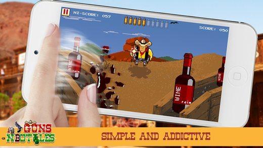 Guns n' Bottles giochi per iPhone avrmagazine 2