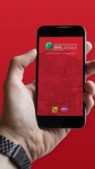 Internazionali BNL d'Italia applicazioni per iPhone avrmagazine 2