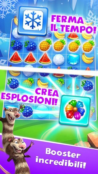 L'era glaciale - La valanga giochi per iPhone avrmagazine 1