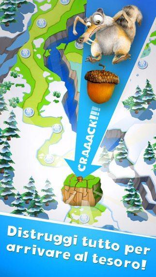 L'era glaciale - La valanga giochi per iPhone avrmagazine 2