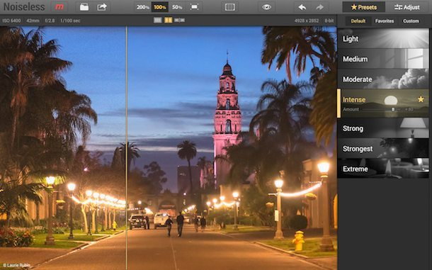 Macphun Noiseless Pro applicazioni per mac avrmagazine 2