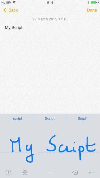 MyScript Stylus applicazioni per iPhone avrmagazine 2