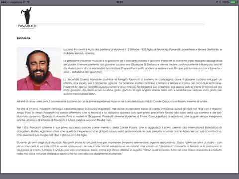 Pavarotti applicazioni per iPhone avrmagazine 2