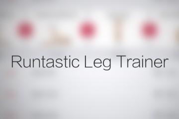 Runtastic Leg Trainer avrmagazine