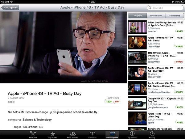 Youtube-iOS 5-avrmagazine