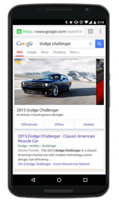 Google Automobile Ads