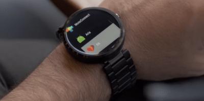 Aria gadget per Android Wear e Pebble