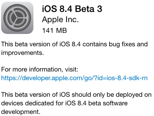 iOS 8.4 avrmagazine