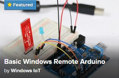 Windows 10 per Arduino