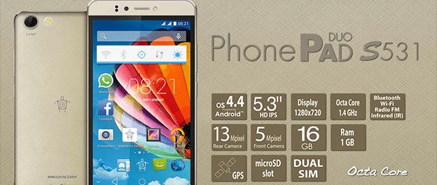 Mediacom PhonePad Duo S531 Camera
