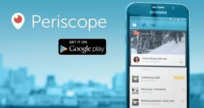 Finalmente Periscope sbarca su Android !