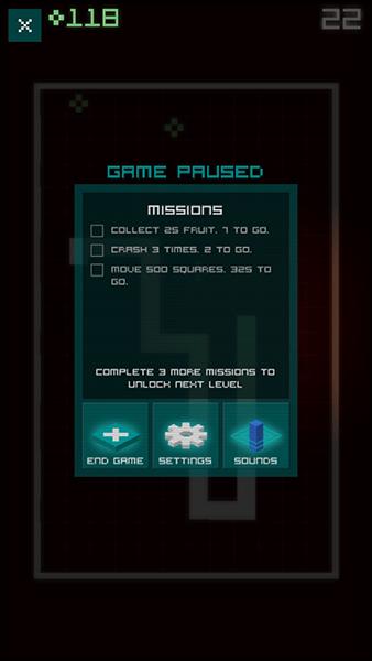 snake rewind-giochi per ios android-avrmagazine2