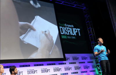 Vimofit al  TechCrunch Disrupt NY 2015