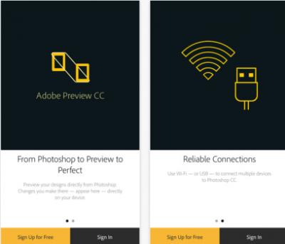 Adobe Preview CC applicazione per iPhone avrmagazine