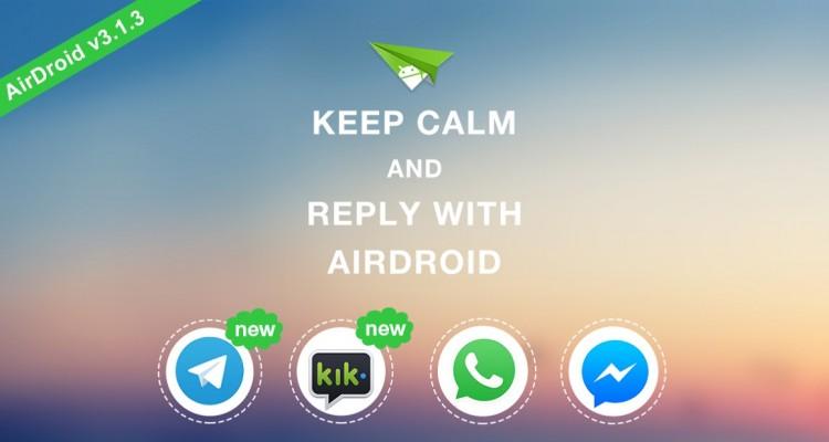 AirDroid telegram avrmagazine 2