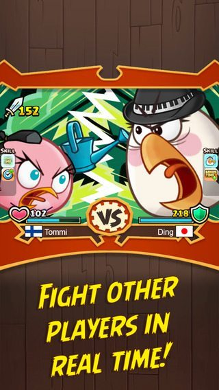 Angry Birds Fight giochi per iphone avrmagazine 2